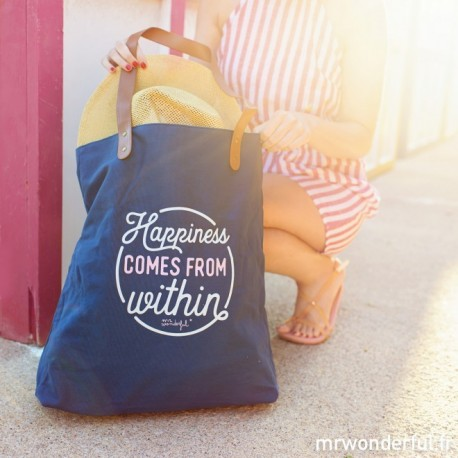BORSA HAPPINESS COMES FROM WITHIN