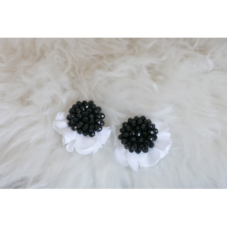 ORECCHINI SISSI BLACK&WHITE
