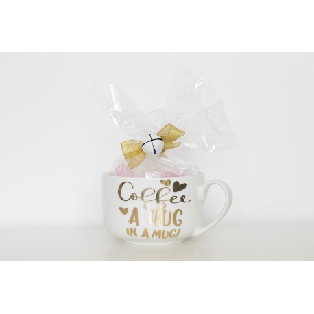 "TAZZA ""COFFEE A HUG IN A MUG"""
