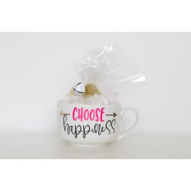 "TAZZA "" CHOOSE HAPPINESS"""