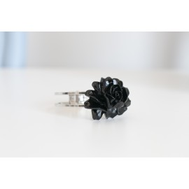 Bangle Rosa nera