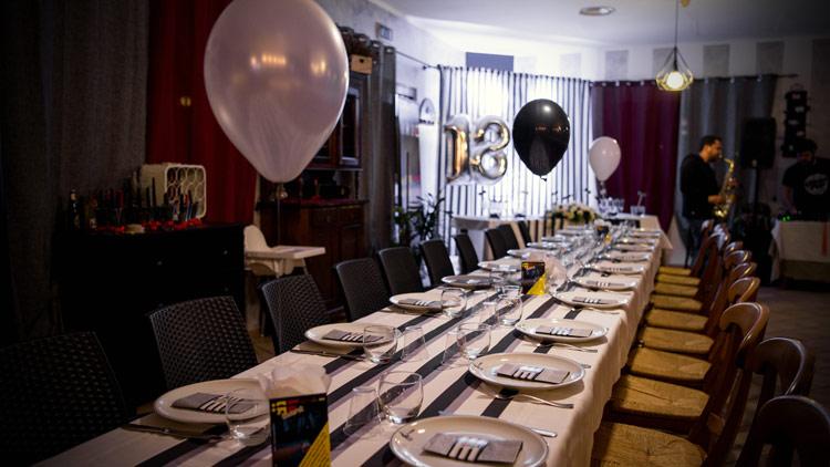 allestimento festa diciottesimo compleanno a cura di CREAttiva